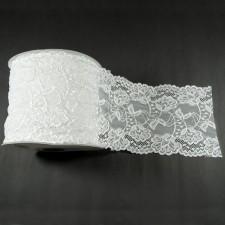 Bild 1 Elastische Spitze Weiss 15,5 cm breit Nr. 59