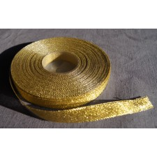 Bild 1 Lurexborte Gold 12 mm breit