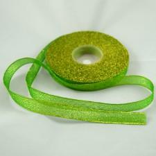 Bild 1 Lurexborte Grün 12 mm breit