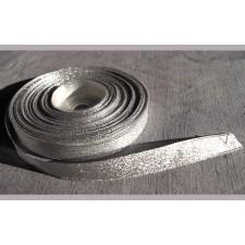 Bild 1 Lurexborte Silber 12 mm breit
