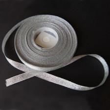Bild 1 Lurexborte Silber 10 mm breit