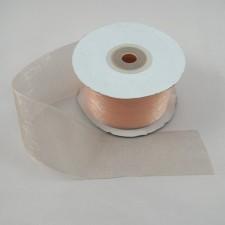 Bild 1 Organzaband Creme 40 mm breit
