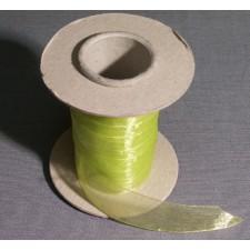 Bild 1 Organzaband Hellgrün 25 mm breit