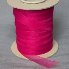 Bild 1 Organzaband Pink 12 mm breit
