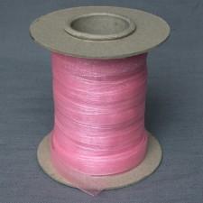 Bild 1 Organzaband Rosa 12 mm breit