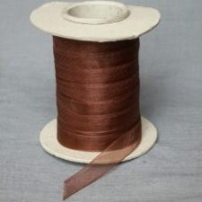 Bild 1 Organzaband Braun 12 mm breit