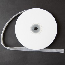 Bild 1 Samtborte Grau 9 mm breit