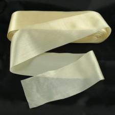 Bild 1 Satinband Creme 60 mm breit