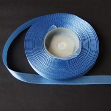 Bild 1 Satinband Mittelblau 10 mm breit