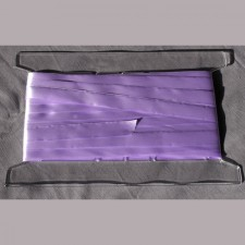 Bild 1 Satinband Lavendel 20 mm breit