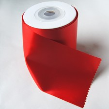 Bild 1 Satinband Rot 100 mm breit