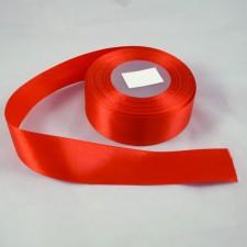 Bild 1 Doppelsatinband Rot 30 mm breit