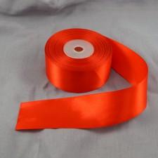 Bild 1 Doppelsatinband Rot 40 mm breit