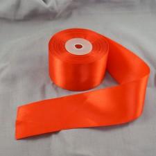 Bild 1 Doppelsatinband Rot 50 mm breit