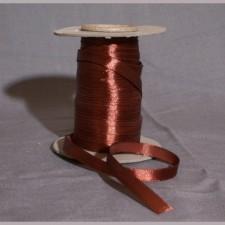 Bild 1 Satinband Braun 10 mm breit
