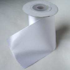 Bild 1 Satinband Weiss 100 mm breit