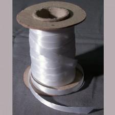 Bild 1 Doppelsatinband Weiss 10 mm breit