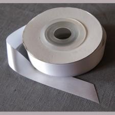 Bild 1 Satinband Weiss 20 mm breit
