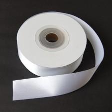 Bild 1 Satinband Weiss 30 mm breit