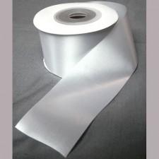 Bild 1 Satinband Weiss 50 mm breit