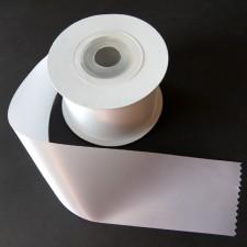 Bild 1 Satinband Weiss 60 mm breit
