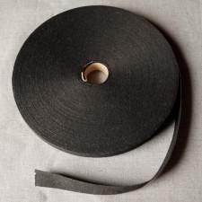 Bild 1 Schrägband Baumwolle Schwarz 25 mm breit