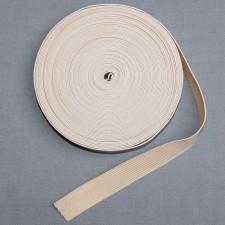 Bild 1 Gummiband Beige 20 mm breit