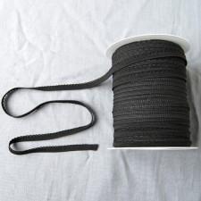 Bild 1 Wäschegummi schwarz breite 10 mm