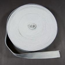 Bild 1 Gummiband Hellgrau 25 mm breit
