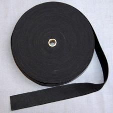 Bild 1 Gummiband Schwarz 35 mm breit