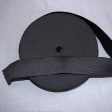 Bild 1 Gummiband Schwarz 40 mm breit