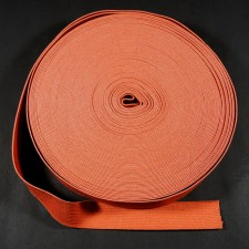 Bild 1 Gummiband Terracotta 25 mm breit