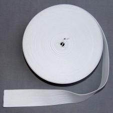 Bild 1 Gummiband Weiß 35 mm breit