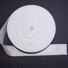 Bild 1 Gummiband Weiß 40 mm breit
