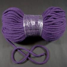 Bild 1 Kordel Baumwolle Lila 5 mm