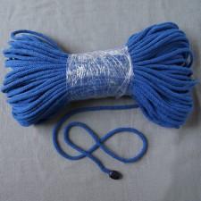 Bild 1 Kordel Baumwolle Mittelblau 5 mm
