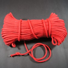Bild 1 Kordel Baumwolle Rot 6 mm