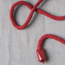 Bild 2 Kordel Baumwolle Weinrot 5 mm