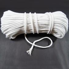 Bild 1 Kordel Baumwolle Weiß 6 mm
