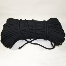 Bild 1 Kordel Baumwolle Schwarz 6 mm