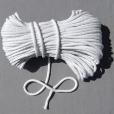 Bild 1 Kordel Baumwolle Weiß 7 mm