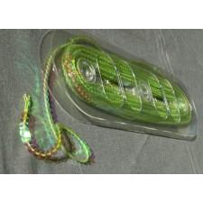 Bild 1 Paillettenband Pailletten Grün irisierend 6 mm breit