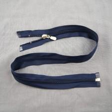 Bild 1 Reißverschluss 60 cm lang Dunkelblau