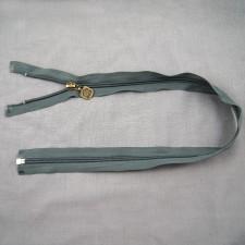 Bild 1 Reißverschluss 60 cm lang Dunkelgrau