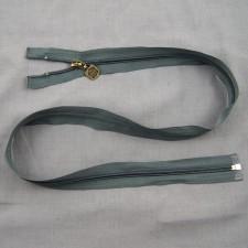 Bild 1 Reißverschluss 85 cm lang Dunkelgrau