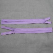 Bild 1 Reißverschluss nahtverdeckt 20 cm lang Lila