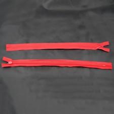 Bild 1 Reißverschluss nahtverdeckt 30 cm lang Rot