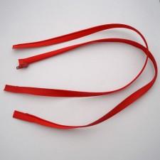 Bild 1 Reißverschluss nahtverdeckt 70 cm lang Rot