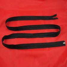 Bild 1 Reißverschluss 150 cm lang Schwarz
