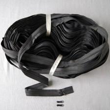Bild 1 Reißverschluss endlos Schwarz
